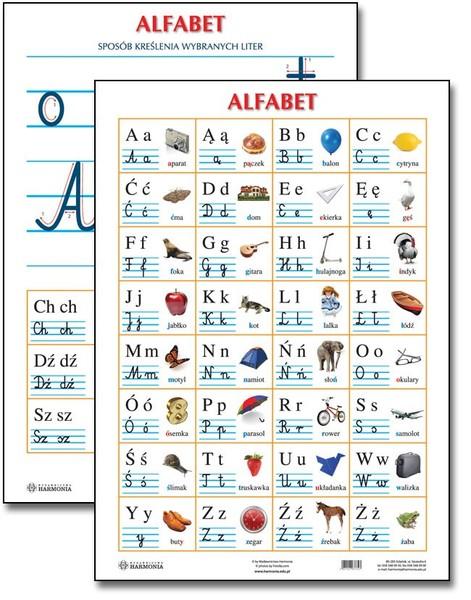 Прописной польский алфавит