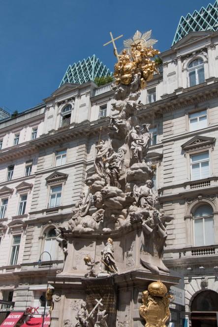 Чумной столб в Вене