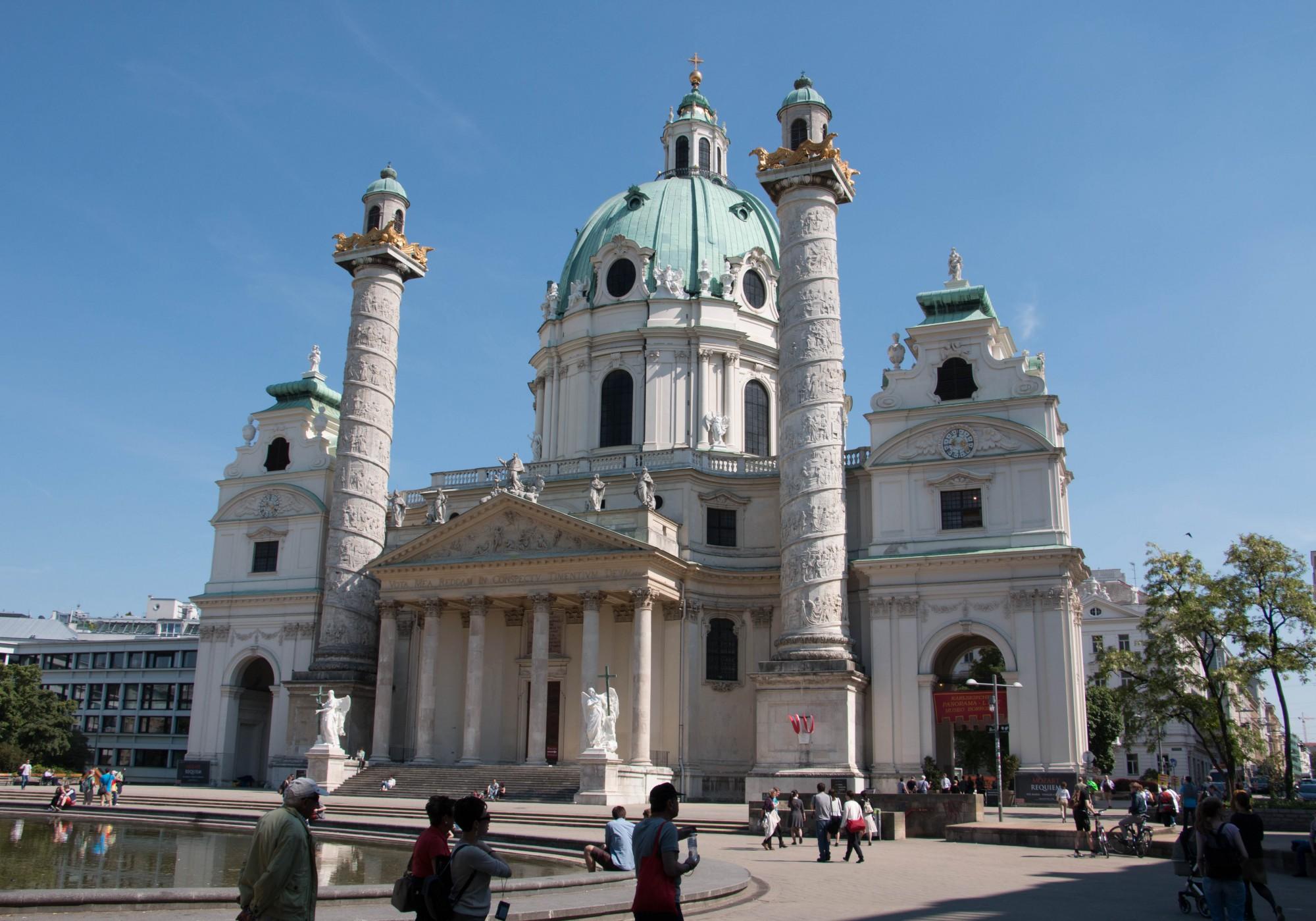 Церковь Святого Карла в Вене