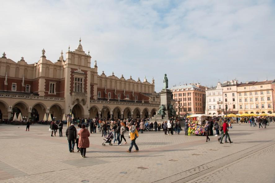 Площадь Рынок в Кракове