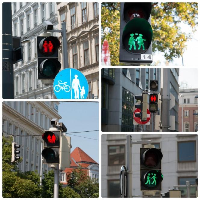 Светофоры в Вене