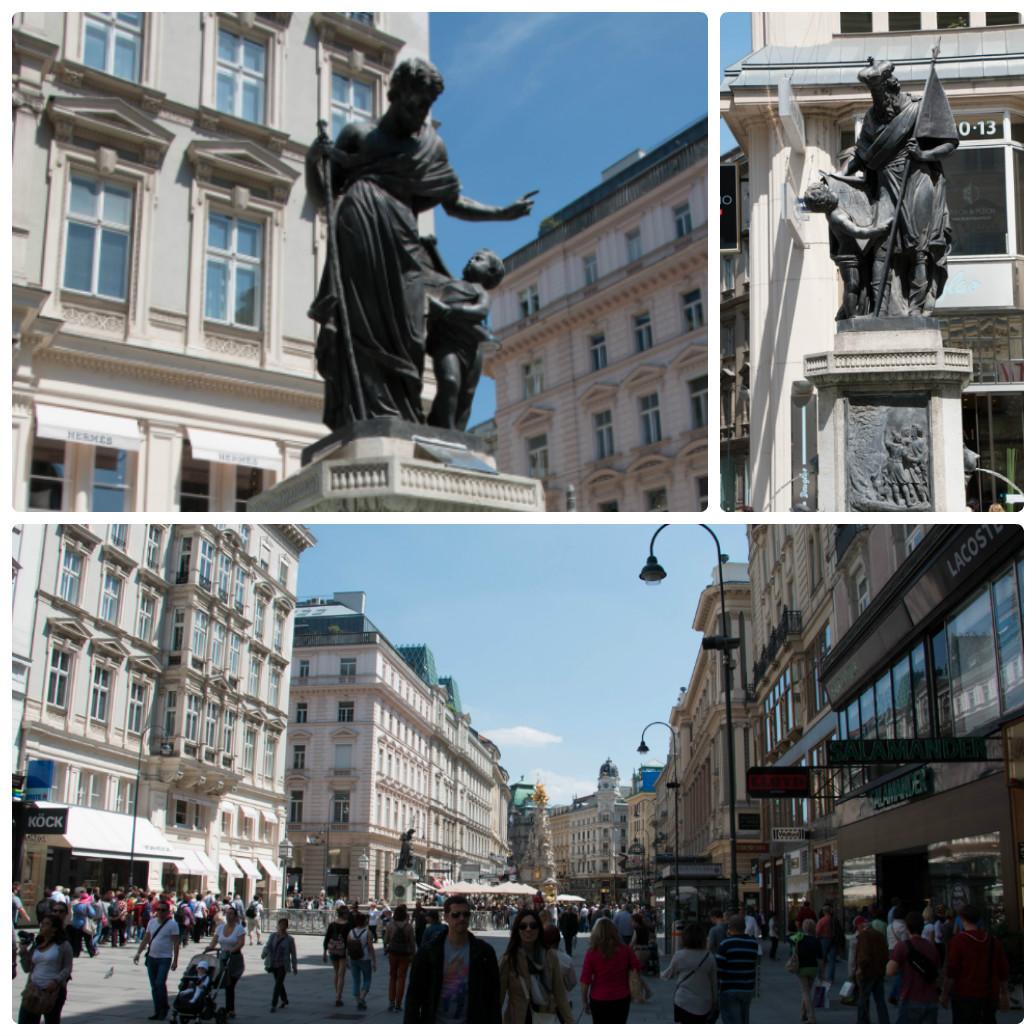 Фонтаны Йозефа и Леопольда в Вене