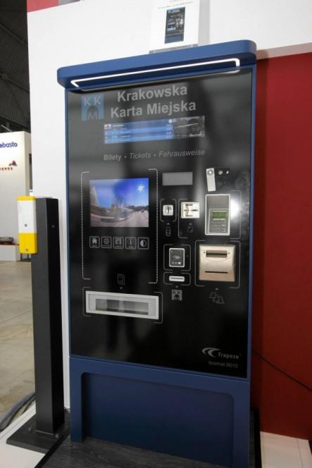 Nowy automat biletowy