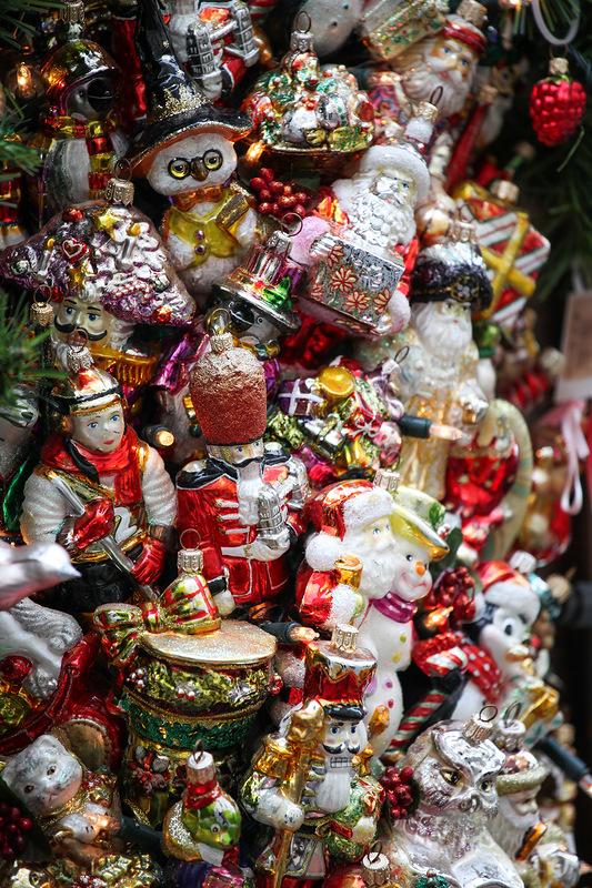 Сувенир из Праги - елочные игрушки