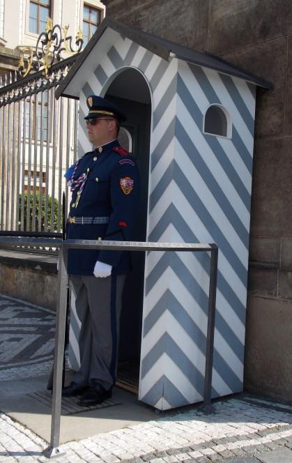 Почетный караул. Прага