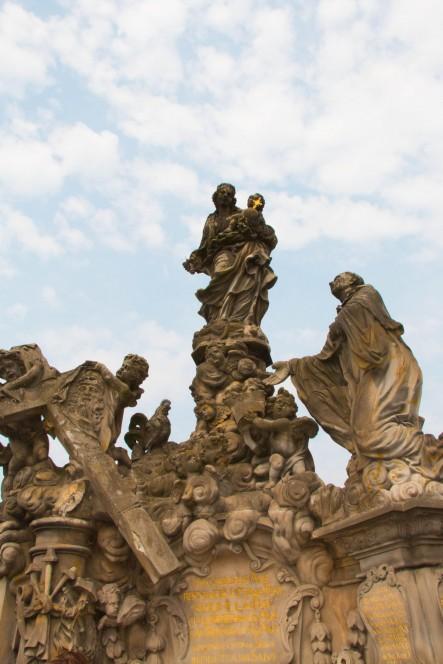 Мадонна с младенцем. Прага