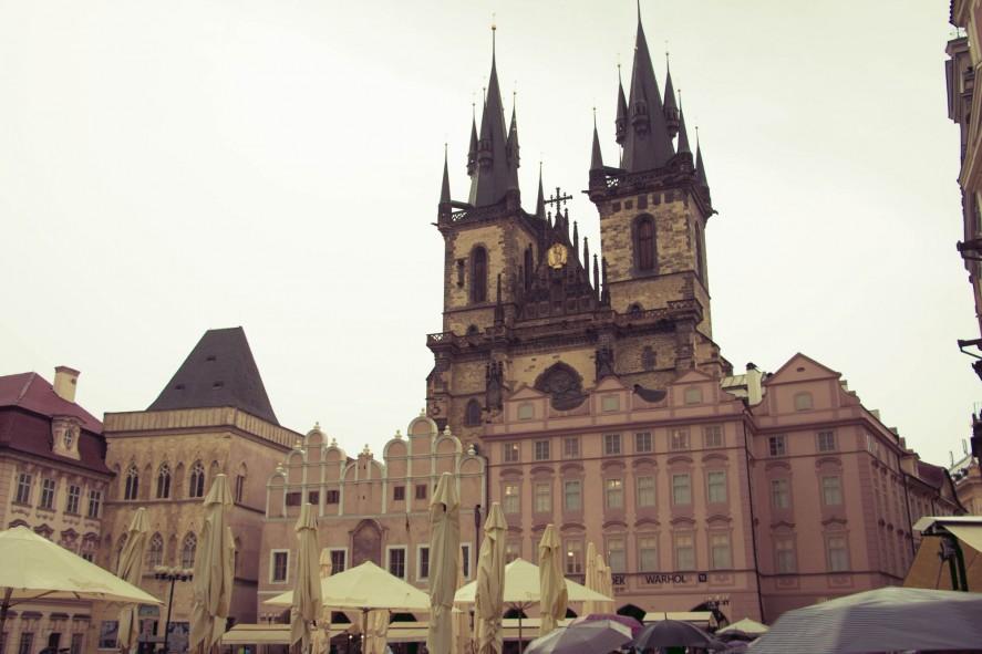 Тынский храм. Прага