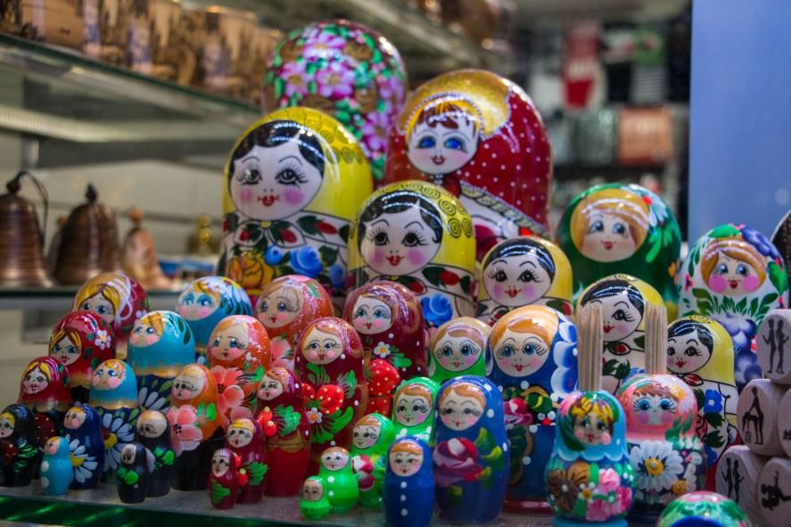 Сувенир из Праги - матрешки