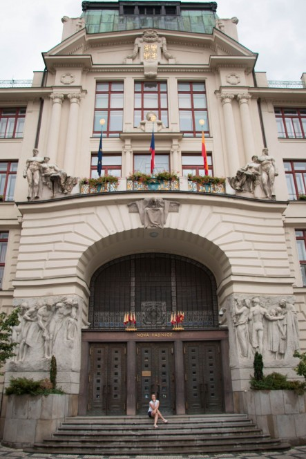 Новая ратуша в Праге