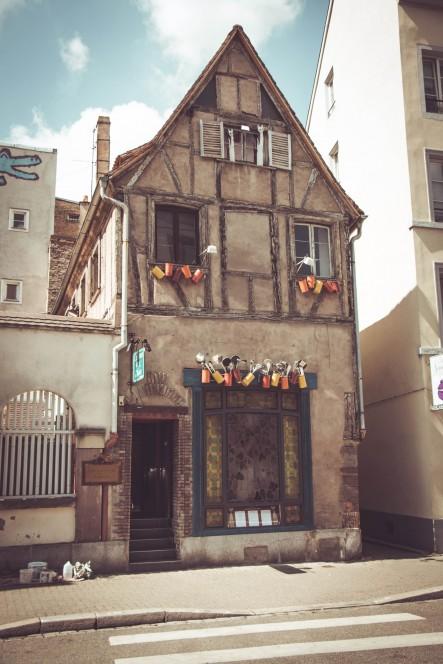 Интересный дом в Страсбурге