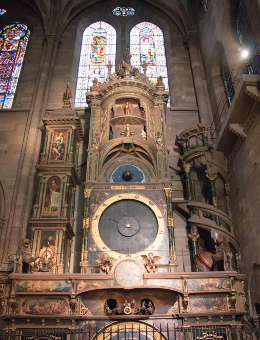 Астрономические часы в Страсбургском соборе