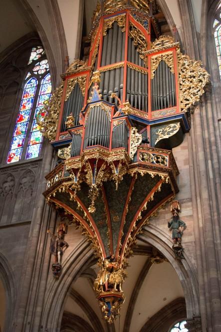 Орган в Страсбургском соборе