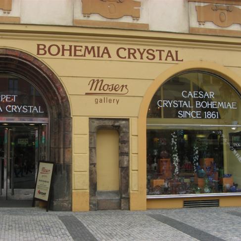 Сувенир из Праги - чешский хрусталь