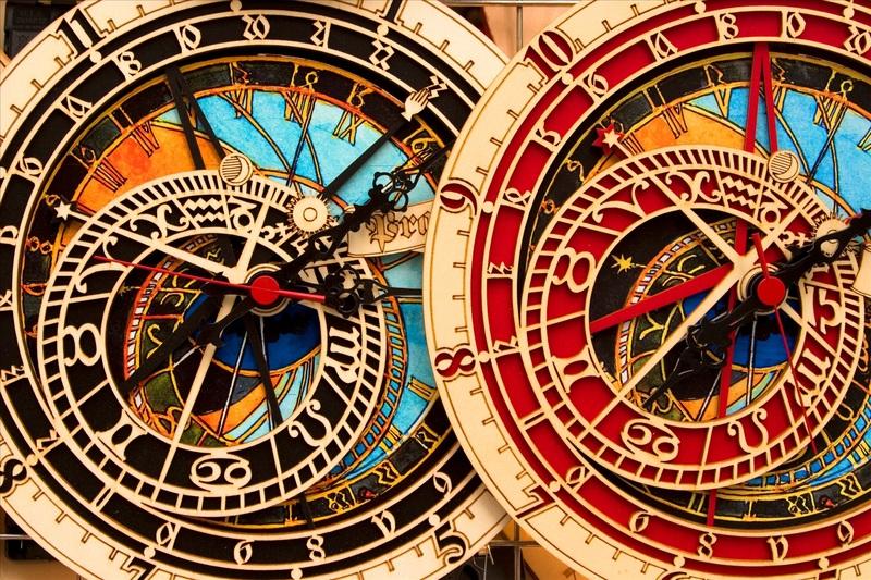 Сувенир из Праги - астрономические часы