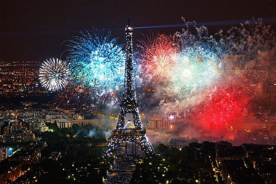 День взятия Бастили - празднование в Париже