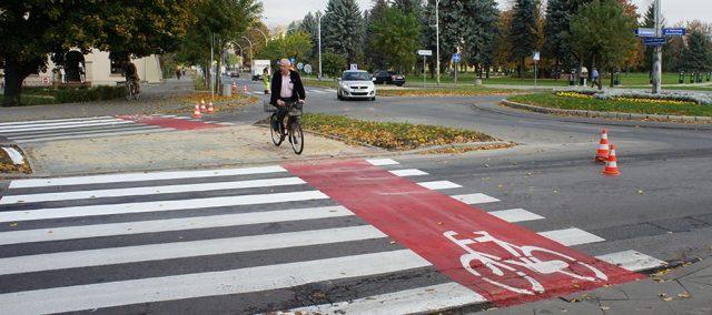 Переезд для велосипедистов