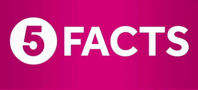 5 интересных фактов